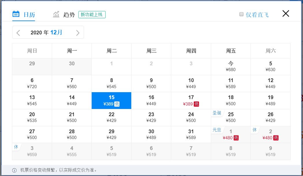 元旦假期火车票已正式开售,多地机票价格比火车票低一半!!插图98