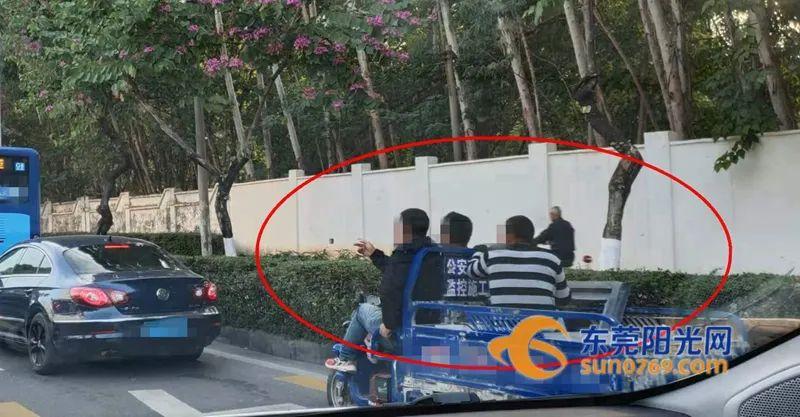 """胆真肥!三轮车竟挂""""公安交警""""标牌上路,还妄图""""掉包"""",2人被拘!插图6"""