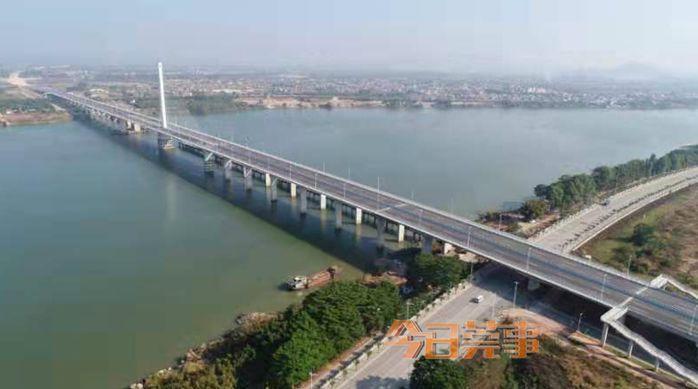 刚刚,这条大桥正式通车,东莞到惠州可省半个小时!
