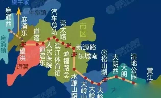 定了!深圳新增多条地铁连接东莞!看看有到你家附近的吗?