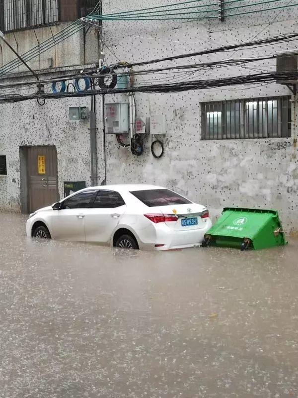 水浸街又来了!雷雨大风+暴雨预警生效!地质灾害预警三级!插图24