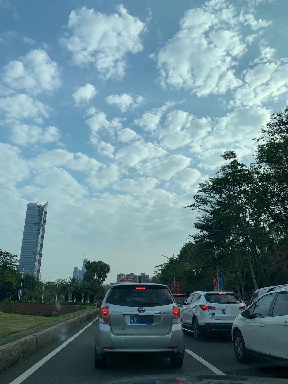 今天,东莞终于又堵车了!