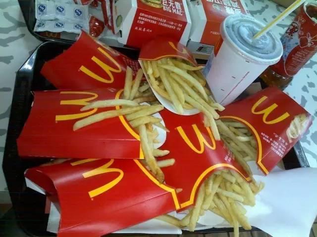 OMG!今天东莞所有麦当劳薯条买一送一啦喂!!插图8