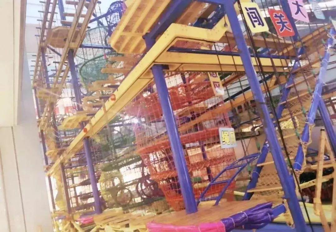 儿童冒险乐园!抢39.9元闯关大冒险1次+蜘蛛塔,积木区域畅玩1小时,锻炼勇气和胆量~玩起来吧