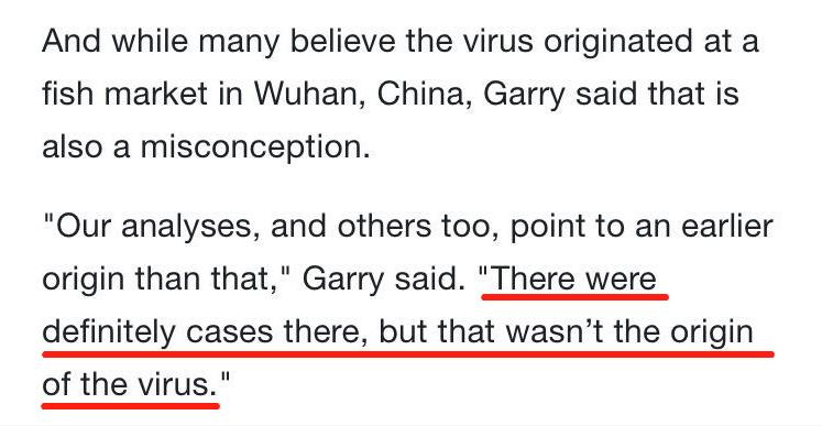 美国科学家:新冠病毒并非来自实验室,武汉绝不是源头!插图12