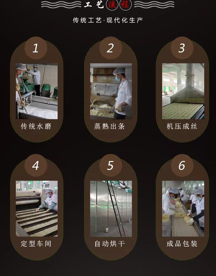 广东老字号,广华银丝手工水磨米粉,下单就送香辣萝卜!插图56