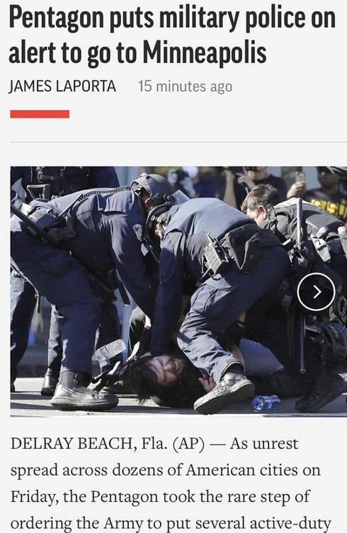 砸银行、抢苹果店、抢LV店…抗议活动蔓延全美33城,五角大楼罕见下令出动军警!插图20