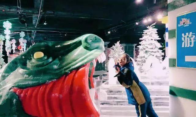 """9元/年卡!网红打卡圣地冰雪世界无限玩!节假日不加收!恐龙世界冰雪+飘雪主题日........."""""""