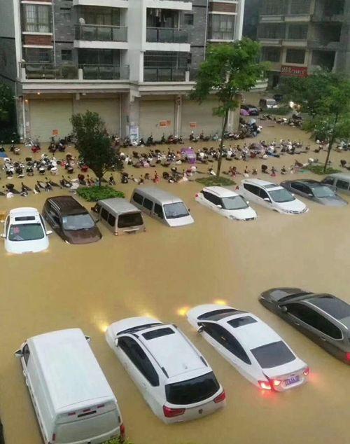 可怕!今早东莞多地严重水浸!未来几天将发生暴雨到大暴雨+8级大风………插图22