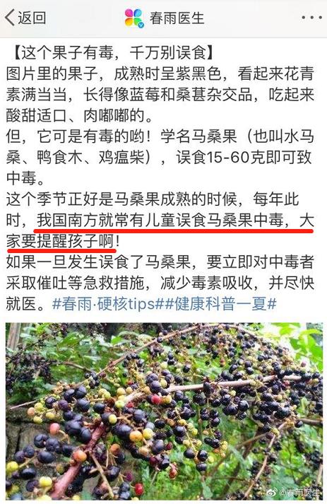 注意! 吃了这种果子, 4个孩子在路边呕吐, 一人昏迷! 东莞特别多….插图28