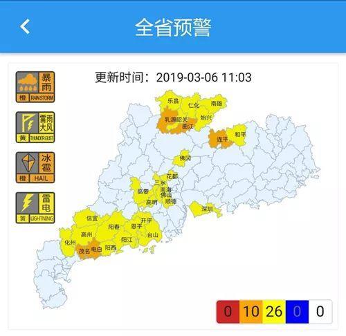 小心!广东多地发布冰雹橙色预警,东莞也要下冰雹?