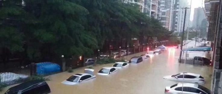 可怕!今早东莞多地严重水浸!未来几天将发生暴雨到大暴雨+8级大风………插图18