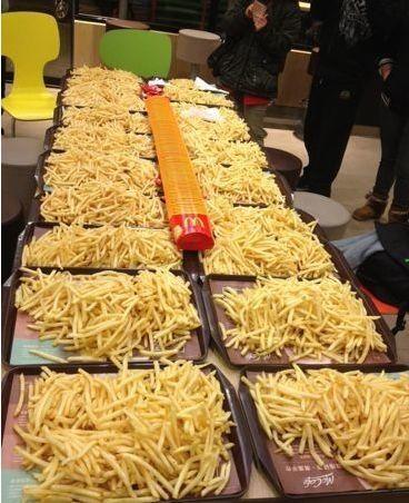 OMG!今天东莞所有麦当劳薯条买一送一啦喂!!插图10