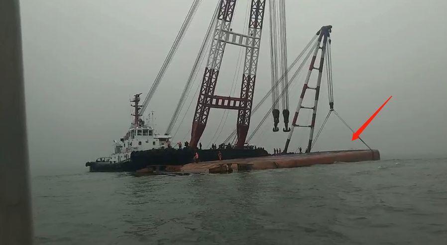 突发!东莞西大坦水域一艘货船沉没!插图2