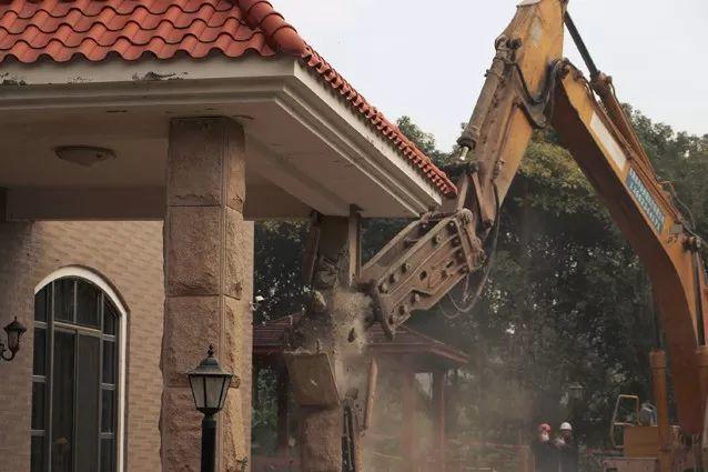 夷为平地!东莞一栋1260㎡别墅被强拆!插图2