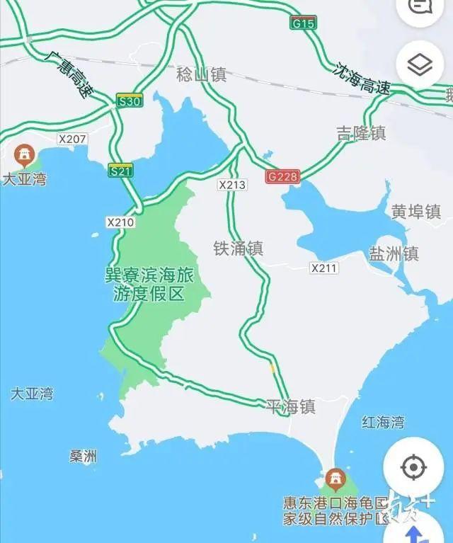 """广东将迎来一条新高速!东莞人以后去巽寮湾不再""""堵堵堵""""插图10"""
