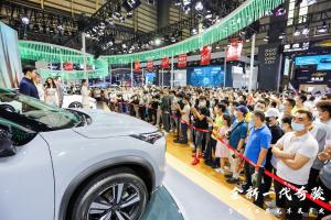 超级工程打造全地形越级SUV  全新一代奇骏东莞五一首发燃爆车展插图